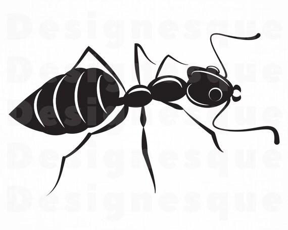 Ameise SVG Insekt SVG Ameise Clipart Ant-Dateien für | Etsy