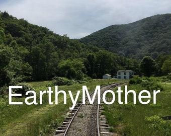 Train Tracks, Farm House, West Virginia