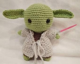 Yoda Star Wars Amigurumi