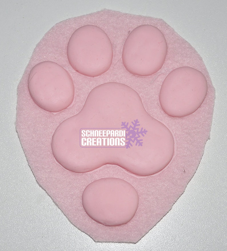 Normal Silicone Hand Paw Pads Fursuit Costume Larp Cosplay image 0