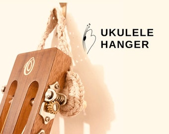 Crocheted Ukulele Hanger
