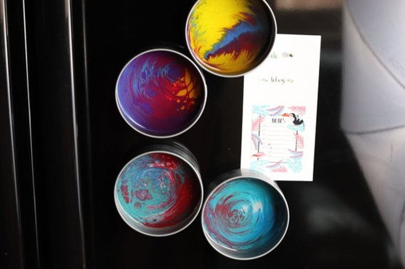 Engagement ring box Wedding ring box Beach lover gift Ring dish Seashell decor art Pill case Resin beach art painting Fairy pond