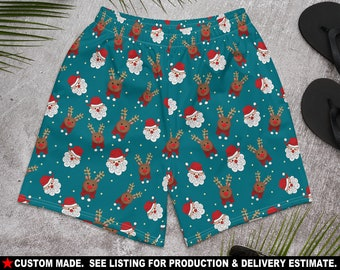 Christmas in Hawaii Design 2 Crossfit  Athletic Shorts from Ori Active