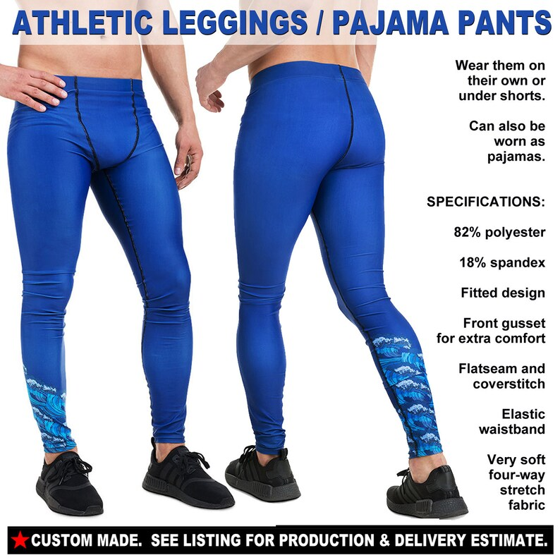 THANKSGIVING 4a - See Estimated Delivery Happy Turkey Day Autumn Fall Pumpkin Party gift Mens Athletic Leggings Pajama Pants Joggers