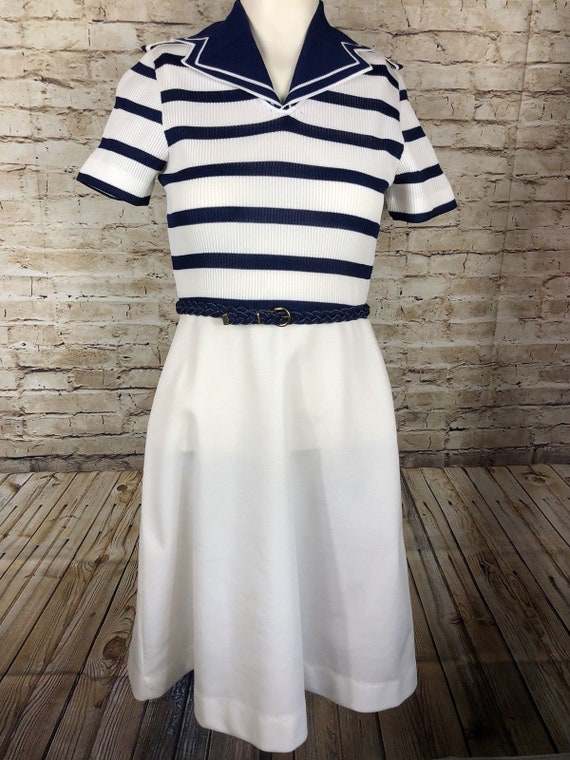 Mid Century Nautical / Marine / Navy / Sailor Stri