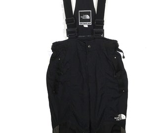 The North Face Multicolor Ski Wear With Knee Pads Overall/Ski Pants