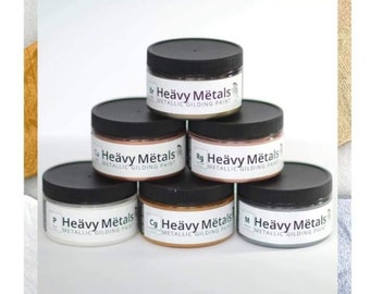 Heavy Metals 4 oz Collection (set of 6) Free Shipping