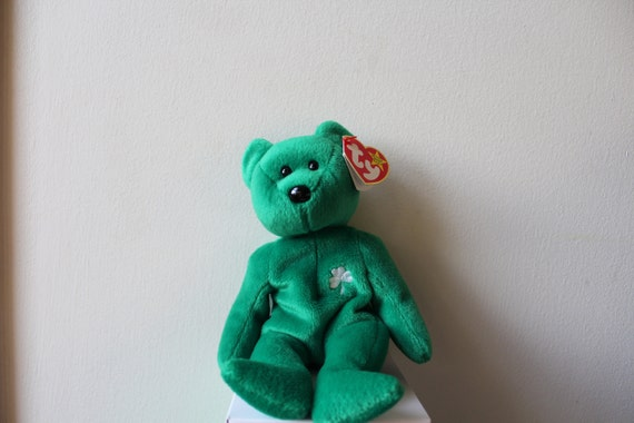 Rare Retired 1997 Erin Ty Beanie Baby d92a8d2eed0d