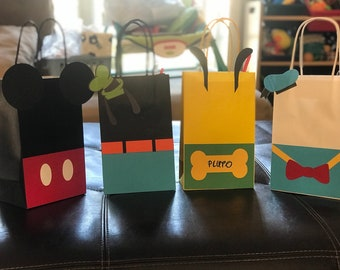 Mickey Mouse and Friends inspired Treat bags