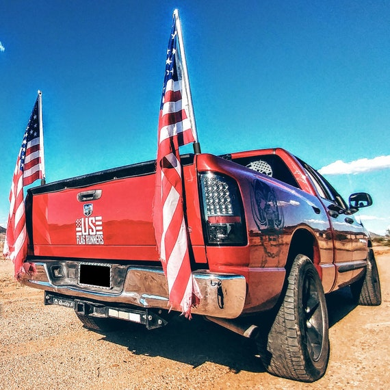 Ftx Single Universal Truck Bed Flag Mount System By Etsy