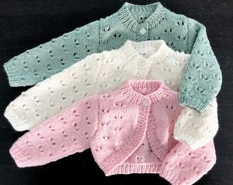 Butterfly chunky cardigan Kawaii clothing Butterfly sweater Butterfly colorful cardigan Butterfly sweater pattern Butterfly clothes