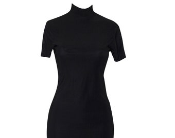 8d28e78f0a64ab 90s style turtle neck dress