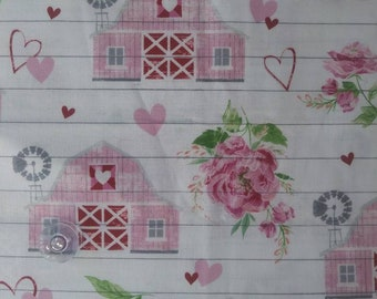 Country Paradise All over Print Cotton quilt fabric by Blank Quilting