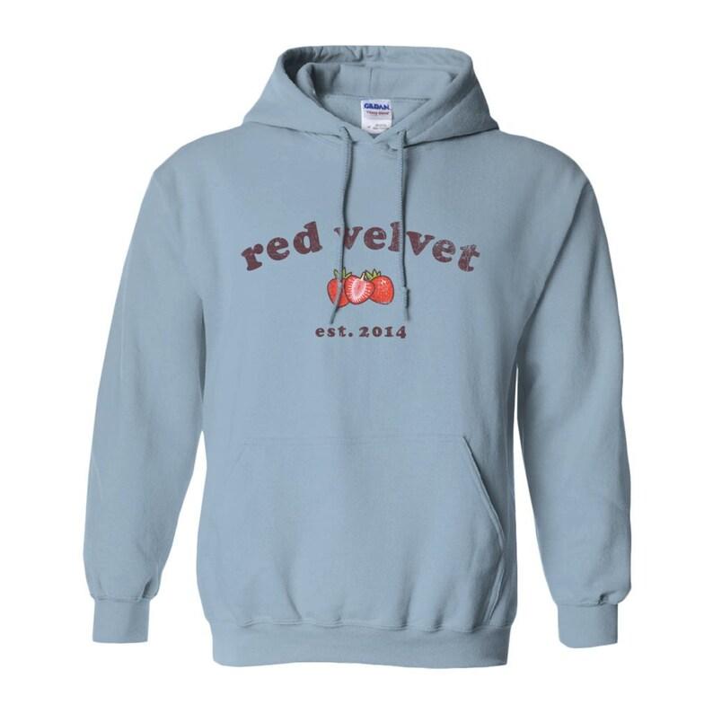 c7ada8cad6f Red Velvet Kpop Powder Blue Hoodie Sweatshirt