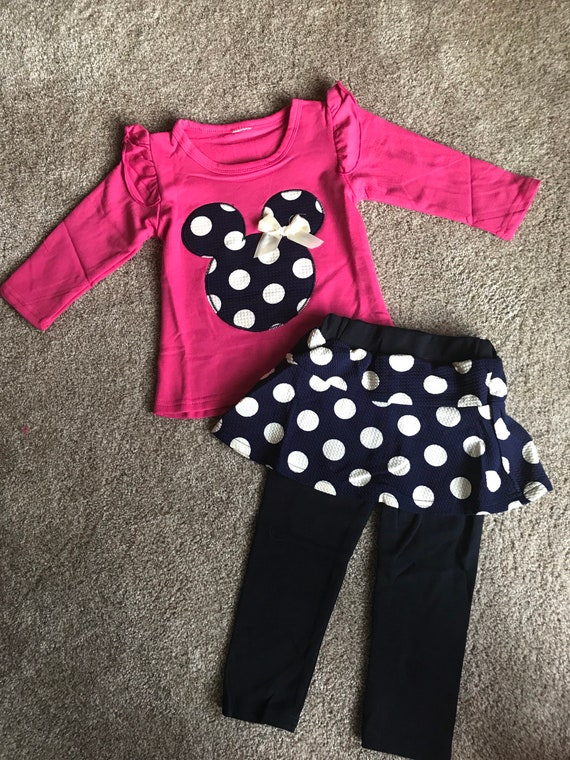 Baby Girls' Disney Mickey Mouse & Friends Minnie Mouse One