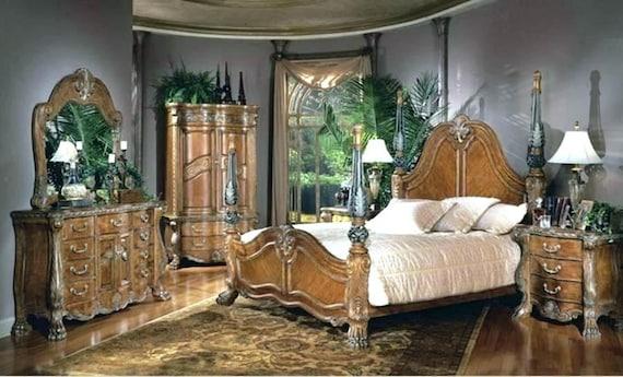 AICO by Michael Amini Eden Paradisio 5PC king bedroom set