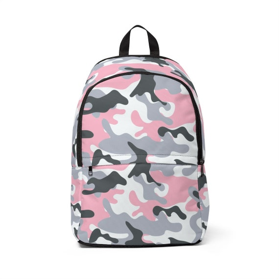 Pink Camo Laptop Backpack | Etsy