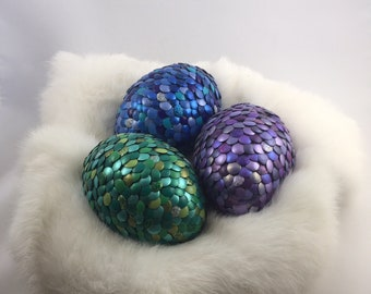 Metallic Multicolored Dragon Eggs