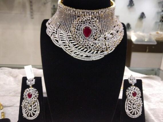 Indian Bridal Jewellery Set Indian Bridal Gorgeous Grand Etsy