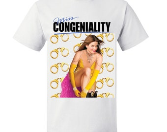 MISS CONGENIALITY - Sandra Bullock T-Shirt