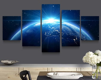 Modern paintings 5 pcs Print On Canvas Home Decor Space