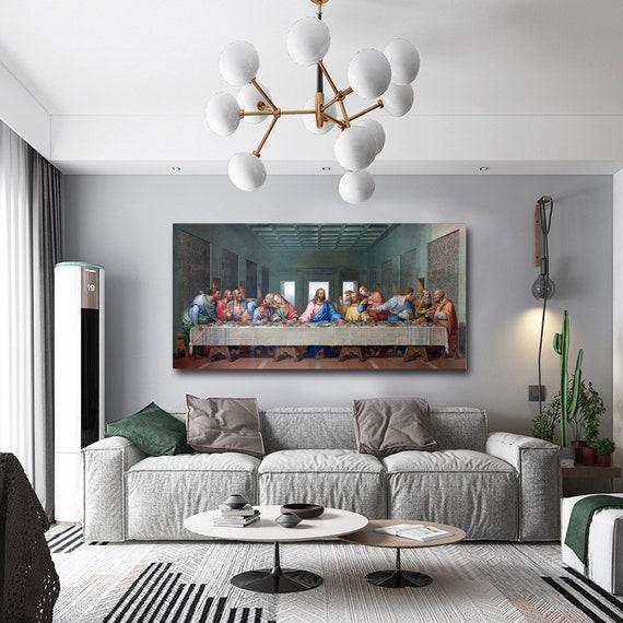 """/""""The Last Supper/"""" Leonardo Da Vinci HD Print on Canvas Large Wall Picture"""