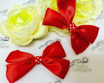 Mother & Kids Bright Cute Kids Girls Candy Hairpins Bow Hair Accessories Girl Hair Clip Styling Tools Hairpin Hair Red Barrettes Accessory We Take Customers As Our Gods Girls' Baby Clothing
