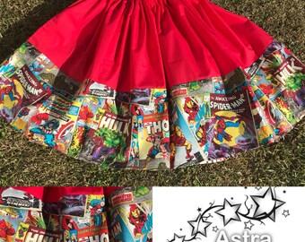 Superhero twirl skirt