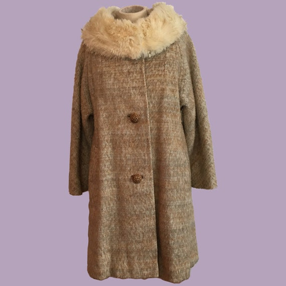 Tweed Princess Coat