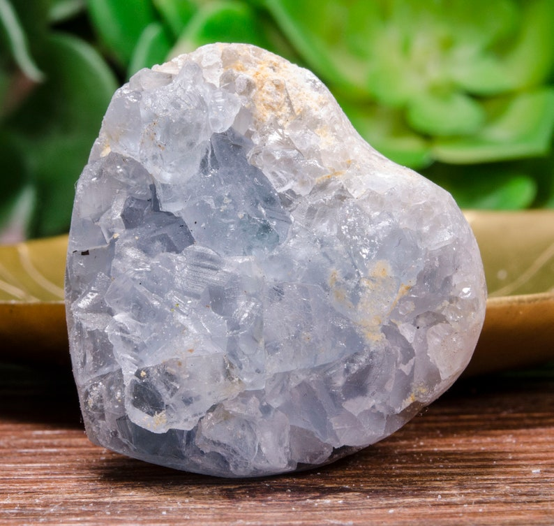 Rare /& Special Natural Raw Celestite Crystal Healing Reiki Gemstones Home Decor