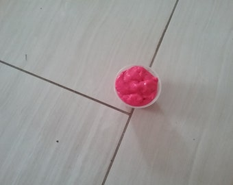 Rosy red slime
