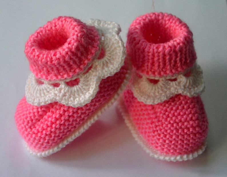 0f206468bd968 Newborn shoes slippers crochet baby booties 3-6 month old