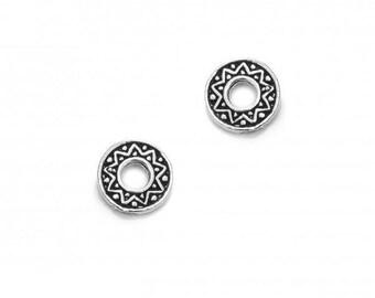 Small Greca Earrings