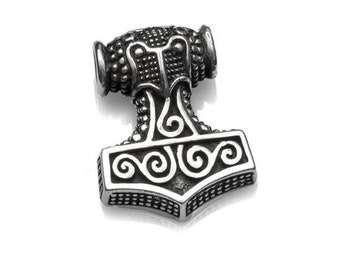 Thor pendant Hammer Sterling Silver 925