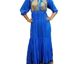 India Silk long Dress