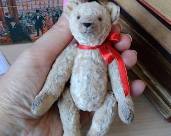 Bear teddy bear Ron, antique, handmad, vintage.teddy, plush toy,teddy, toymother's day, toys, , Teddy bear, Artist Teddy Bears