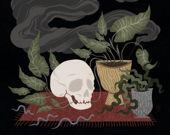 Rug/'n/'Bone \u2022 Illustration \u2022 High Quality Giclee Print