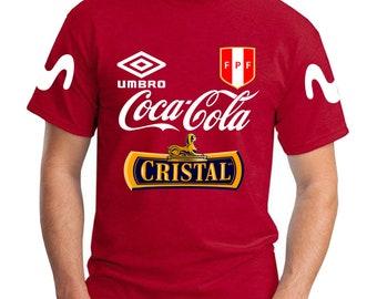 9990e2897e7 llamativa camiseta de PERU entrenamientos SELECCION de futbol 2018 training soccer  jersey t shirt SIZES, colors, long sleeve now
