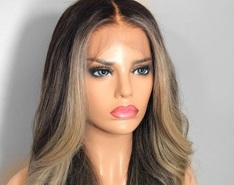 130% Density Brown Wig Full lace Wig Straight Wig Womens Wig Human Hair Wig  Wigs Lace Front Wig Brown Human Hair Wigs Lace Wigs Brown Wigs 4e2b2ff5a