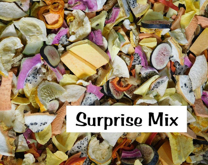 Really Raw for Birds® Freeze Dried Organic Fruit Surprise Mix! | 3oz Approx. 4-5 cups