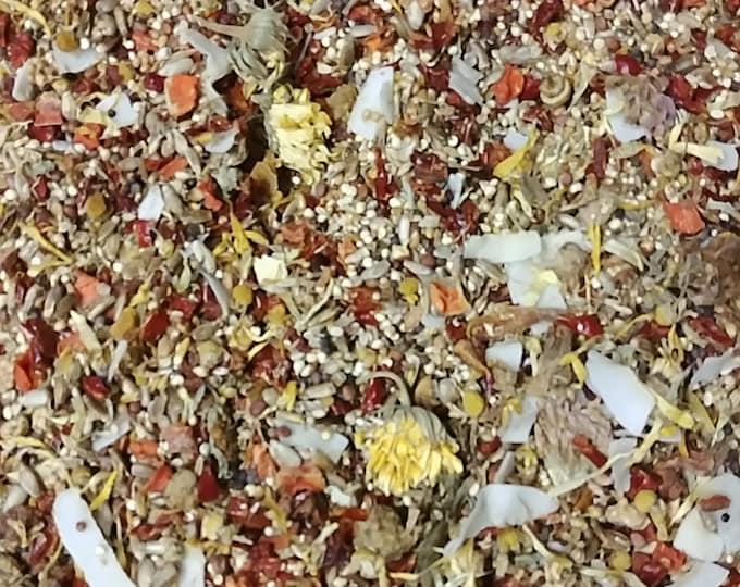 SeeD-elicious!™ Tiny Beaks Organic Bird Food - BirD-elicious! Origins Wild Diet® - The Best Bird Food® 16oz