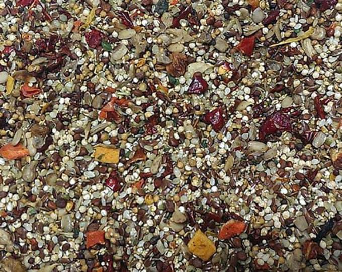 Cockatiel Organic Bird Food - BirD-elicious! Origins Wild Diet® - The Best Bird Food® 16oz