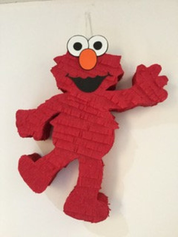 Elmo Pinata Sesame Street Pinata Sesame Street Party Sesame Street Birthday Party Elmo Birthday Party Elmo Party Supplies