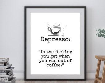 Coffee Depresso Fun Stuff T Funny Humor And Coffee