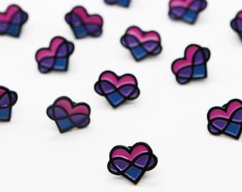 Bi Poly Pride Enamel Pin