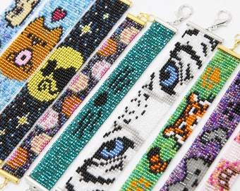 Beaded Cat Bracelet (several styles available!)