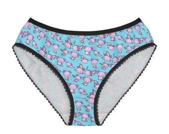 Axolotl Briefs (in Women's Sizes)
