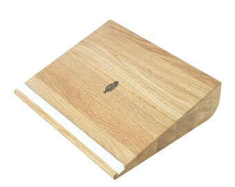 Notebook holder ergonomio   Apple MacBook Stand   Laptop Stand, wooden notebook holder - Handmade in Germany - Holzbutiq