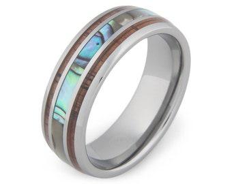 The Angler  -Mens Wedding Band | Mens Engagement Ring | Mens Wedding Ring | Promise Rings for Him | Mens Promise Ring | Wedding Band for Men
