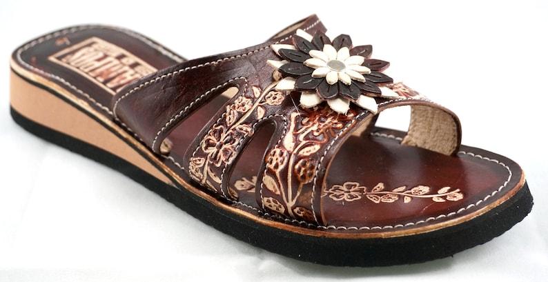 e506de20e1018 Womens Mexican Handmade Leather Huaraches Sandals Sandalias